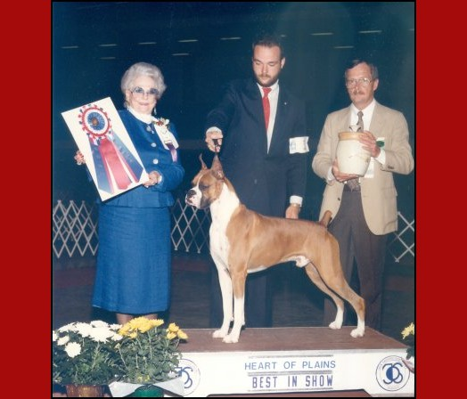 BIS -- Heart of Plains Kennel Club - 1986