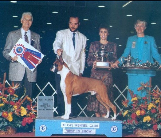 BIS - Texas Kennel Club - 1988